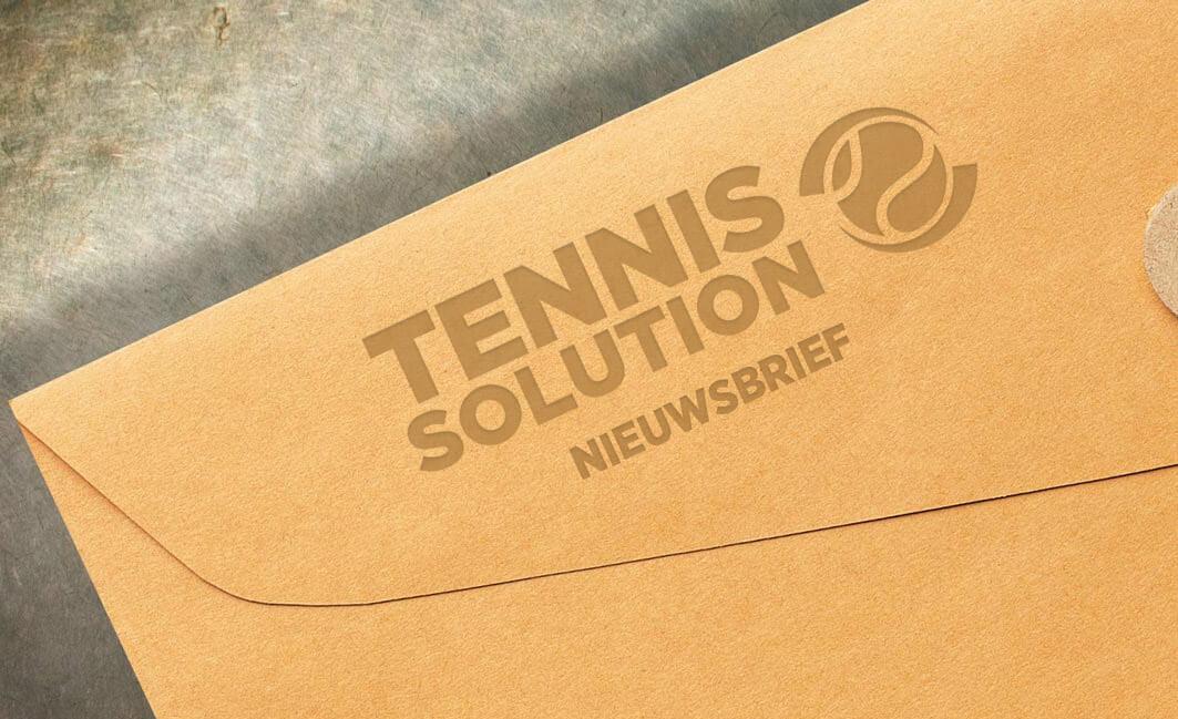 (Vakantie)-Nieuwsbrief Tennis-Solution
